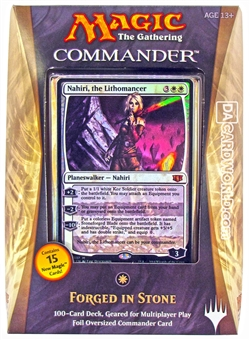 Magic the Gathering Commander Deck (2014) - Forged in Stone (White)