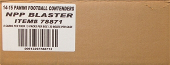 2014 Panini Contenders Football 5-Pack 20-Box Case