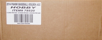 2014 Panini Golden Age Baseball Hobby 20-Box Case