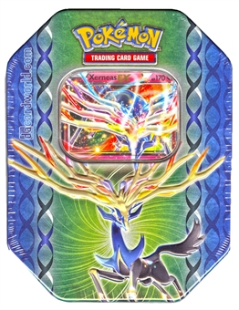 Pokemon XY Legends of Kalos 2014 Spring Xerneas-EX Tin