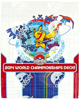 Pokemon 2014 World Championship Deck Box