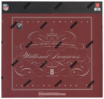 2014 Panini National Treasures Football Hobby Box