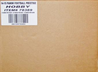 2014 Panini Prestige Football Hobby 12-Box Case