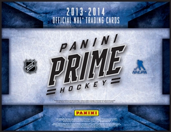 2013-14 Panini Prime Hockey Hobby 8-Box Case (due July)