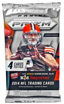 2014 Panini Prizm Football Hobby Pack