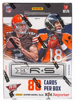 2014 Panini Rookies & Stars Football 8-Pack Box