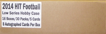 2014 Sage Hit Low Series Football Hobby 16-Box Case