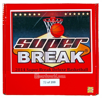 2013/14 Super Break Deluxe Edition Basketball Hobby Box