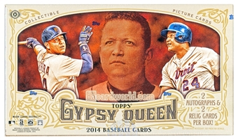 2014 Topps Gypsy Queen Baseball Hobby Box