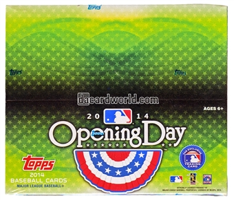 2014 Topps Opening Day Baseball 36-Pack Box