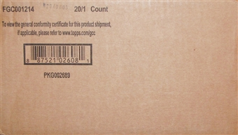 2014 Topps Supreme Baseball Hobby 20-Box Case