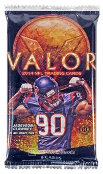 2014 Topps Valor Football Hobby Pack