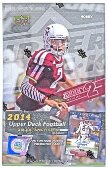 2014 Upper Deck Football Hobby Box