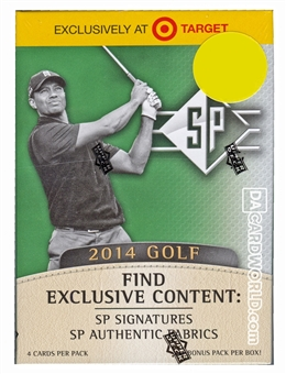 2014 Upper Deck SP Golf 8-Pack Box