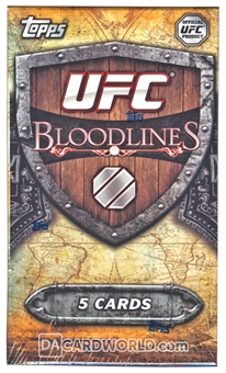 2014 Topps UFC Bloodlines Hobby Mini-Box (Pack)