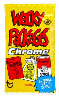 Wacky Packages Chrome Hobby Pack (Topps 2014)