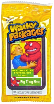 Wacky Packages Series 1 Trading Cards Stickers Pack (Topps 2014)