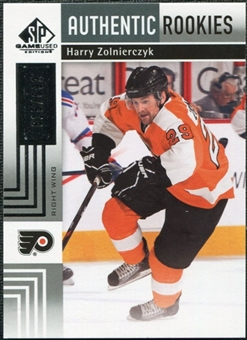 2011/12 Upper Deck SP Game Used #152 Harry Zolnierczyk /699