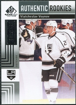 2011/12 Upper Deck SP Game Used #156 Viatcheslav Voynov RC /699