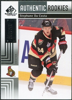 2011/12 Upper Deck SP Game Used #157 Stephane Da Costa /699