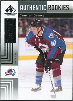 2011/12 Upper Deck SP Game Used #158 Cameron Gaunce RC /699