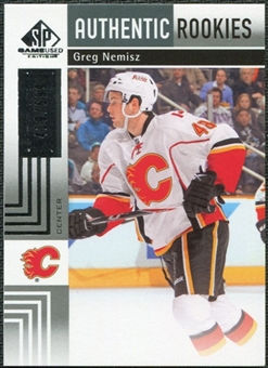 2011/12 Upper Deck SP Game Used #163 Greg Nemisz RC /699