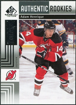2011/12 Upper Deck SP Game Used #167 Adam Henrique RC /699
