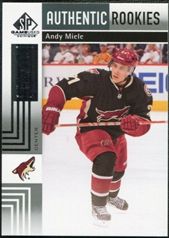 2011/12 Upper Deck SP Game Used #171 Andy Miele RC /699