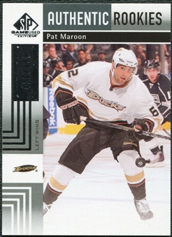 2011/12 Upper Deck SP Game Used #173 Pat Maroon RC /699