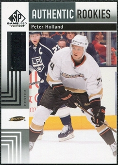 2011/12 Upper Deck SP Game Used #177 Peter Holland /699
