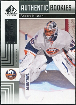 2011/12 Upper Deck SP Game Used #184 Anders Nilsson RC /699