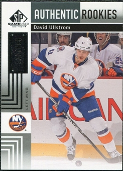2011/12 Upper Deck SP Game Used #188 David Ullstrom RC /699