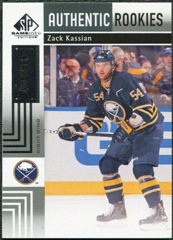 2011/12 Upper Deck SP Game Used #190 Zack Kassian /699