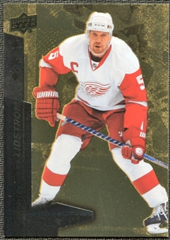 2010/11 Upper Deck Black Diamond Gold #132 Nicklas Lidstrom 4/10