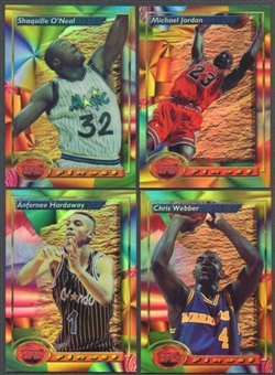 1993/94 Topps Finest Refractor Basketball Complete Set (NM-MT)