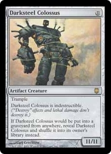 Magic the Gathering Darksteel Single Darksteel Colossus Foil
