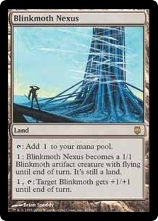 Magic the Gathering Darksteel Single Blinkmoth Nexus LIGHT PLAY (NM)