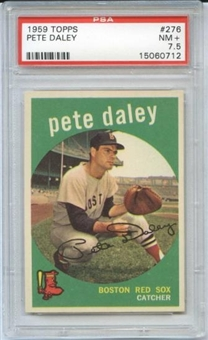 1959 Topps Baseball #276 Pete Daley PSA 7.5 (NM+) *0712 X
