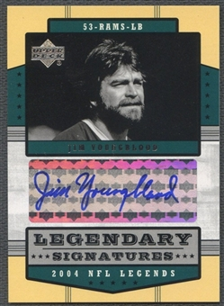 2004 Upper Deck Legends #LSJY Jim Youngblood Legendary Auto