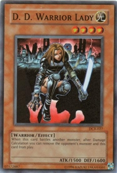 Yu-Gi-Oh Dark Crisis Single D.D. Warrior Lady Super Rare (DCR-027)