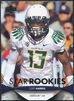 2012 Upper Deck #71 Cliff Harris RC