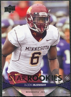2012 Upper Deck #76 Da'Jon McKnight RC
