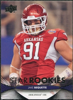 2012 Upper Deck #95 Jake Bequette RC