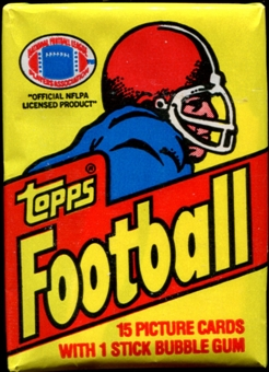 1981 Topps Football Wax Pack (Joe Montana Rookie!)