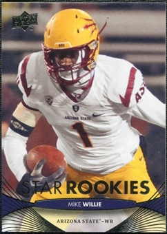 2012 Upper Deck #121 Mike Willie RC
