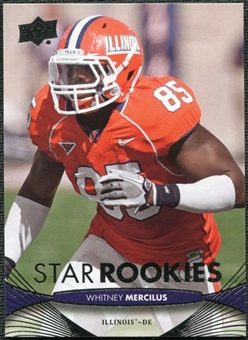 2012 Upper Deck #152 Whitney Mercilus RC