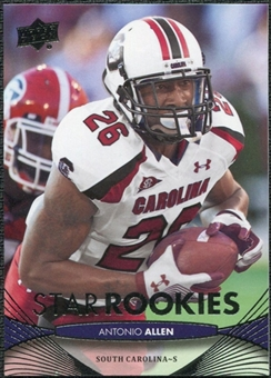 2012 Upper Deck #156 Antonio Allen RC