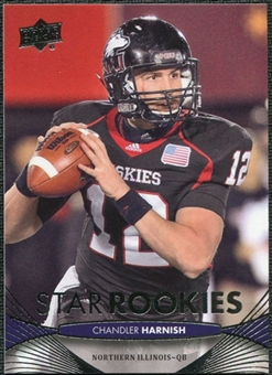 2012 Upper Deck #163 Chandler Harnish RC