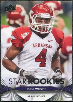 2012 Upper Deck #180 Jarius Wright RC