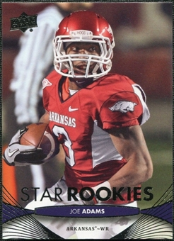 2012 Upper Deck #185 Joe Adams RC